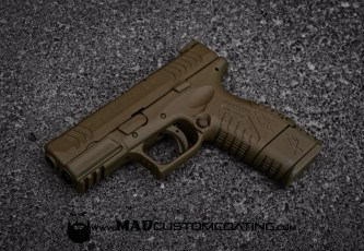 Magpul FDE everything on a XDM