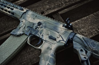 MAD Dragon Camo in MAD Black, Magpul FDE & Magpul OD