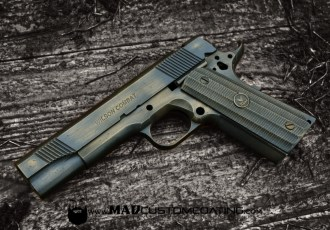 War Torn on a Wilson Combat 1911