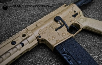 Cerakote Magpul FDE with MAD Black
