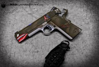 P40 C Warkhawk Themed Colt 1911