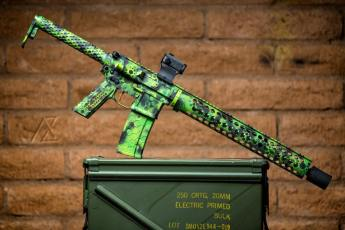 Toxic Theme SanTan Tactical AR15, photo by AZ Photos