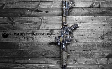 MADLand Camo on an AR Pistol