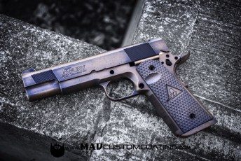 War Torn Dalton Fury 1911 in Burnt Bronze & MAD Black