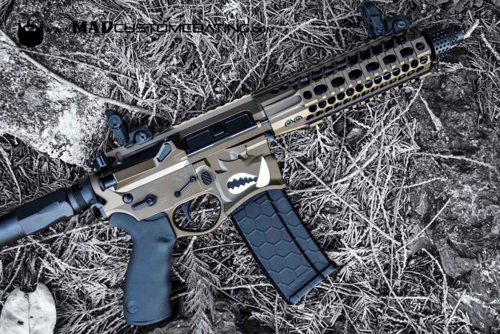 Aero Precision Ar 15 Tungsten Grey