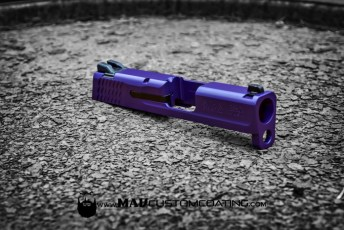 MAD Purple Smith & Wesson Slide