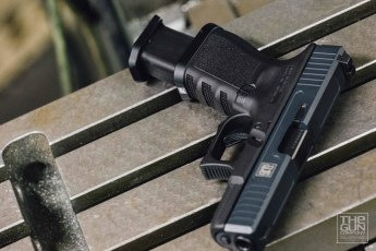 MAD Black & Stealth Grey on The Gun Co Glock