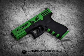 Alien Gear Theme on a Glock