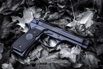 MAD Black on a Beretta 92