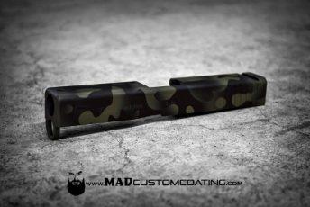 MADLand Camo Glock Slide in MADBlack & Foliage