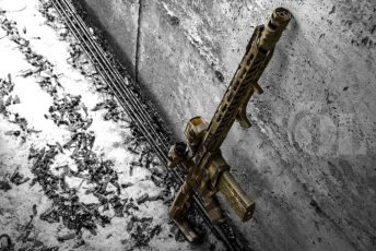 MADLand Camo America on a Jones Arms build