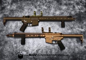 V7 AR15s in Matte Burnt Bronze & Patriot Brown
