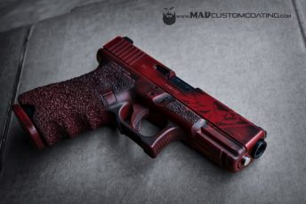 War Torn Glock in Crimson & MAD Black
