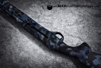 MADLand Camo in Blue Ti, MAD Black & Satin Mag