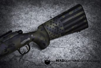 MADLand Camo America on a Remington 700 stock