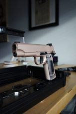 Rose Gold Custom Mix on a Cabot 1911
