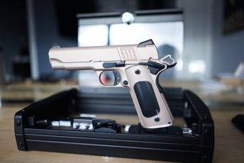Custom Rose Gold on a Cabot 1911