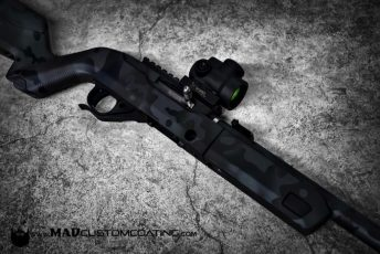 Ghost MADLand Camo on a Tac Sol Ruger 10/22 Takedown