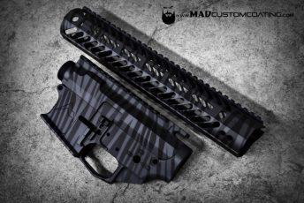 Tiger Stripe in MAD Black & Sniper Grey