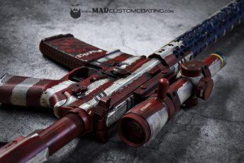 War Torn 'Merica in Red, White & Blue