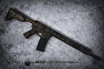 MADLand Camo on a V7 AR15