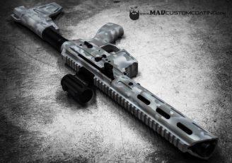 MADLand Snow Camo 9mm AR pistol