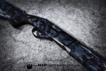 MADLand Camo in Blue Titanium, MAD Black & Satin Mag