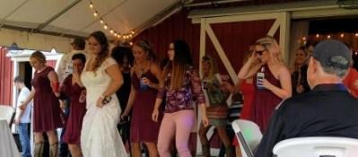jordan's wedding dancing