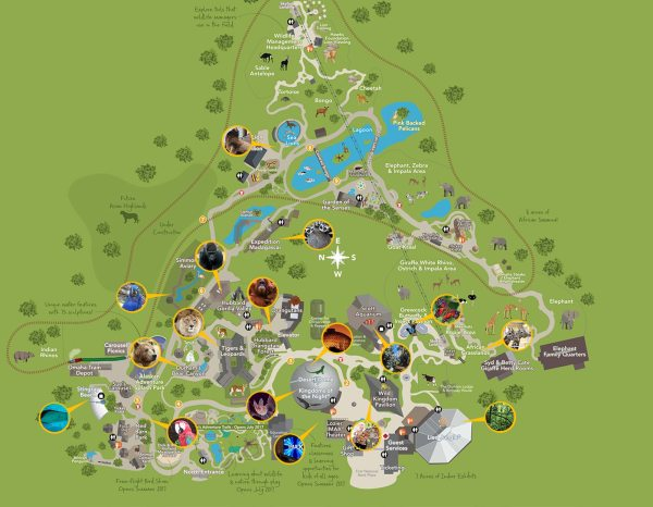Omaha Henry Doorly Zoo Map - Year of Clean Water on kansas city zoo, dallas texas zoo, omaha zoo,