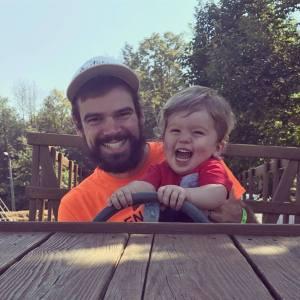 dan orange shirt