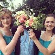 Bridesmaid high-jinks