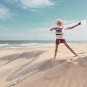 Beach explorer extraordinaire