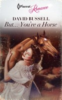 """Reviewer: """"From the creators of Fifty Shades of Hay. For years Mr. Horseman trotted through life with a long face, until he met Kathryn, a lonely woman pasture prime. Saddle up for a rodeo of emotions and personal development, as they start as a forbidden fling of just horsing around but only to find an unexpected, stable relationship, neigh, only to find love. With a spurned heart, Kathryn must decide whether to follow social norms or be with the horse-man she loves. Of course when found out by a nosy neighbor, the city stirrups trouble for the unique couple. The stress eventually becomes to much in the end however, and Kathryn and Mr. Horseman's love doesn't last furlong. Kathryn finds out shes not his mane partner and their seemingly everlasting affair turns into a real night-mare."""""""