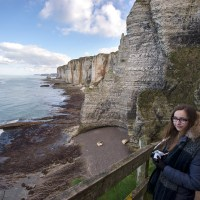 The one where the photographer goes in search of Arsène Lupin on the Normandy coast