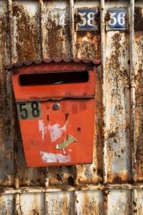 Old Belgian post box