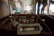 Controls in shaft 3 machine room.