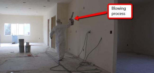best way to clean up drywall dust