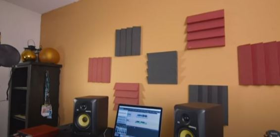 How To Hang Acoustic Foam Without Damaging Walls: In 5 Simple Steps