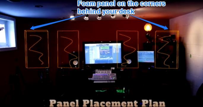 Where To Place Acoustic Foam In Recording Studio: 5 Best Key Areas