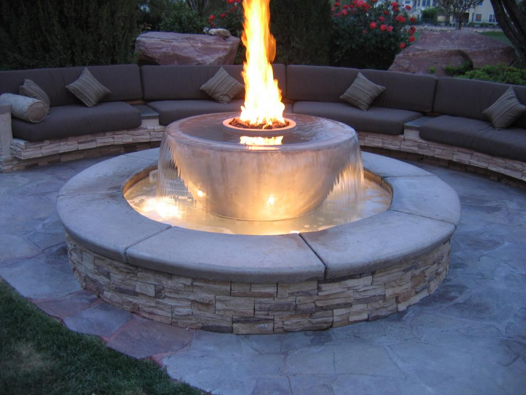 fire pits  Living in Style