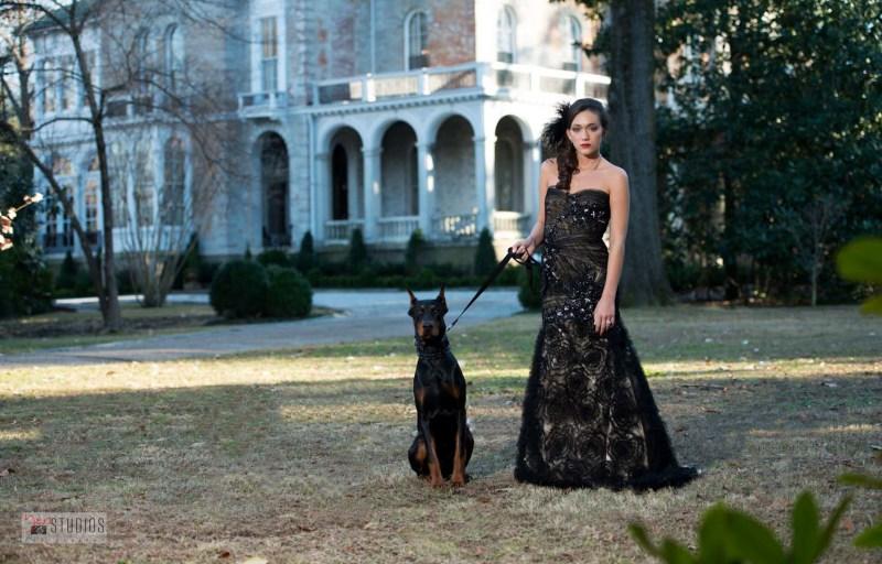 Yen Studios Photography with Dog
