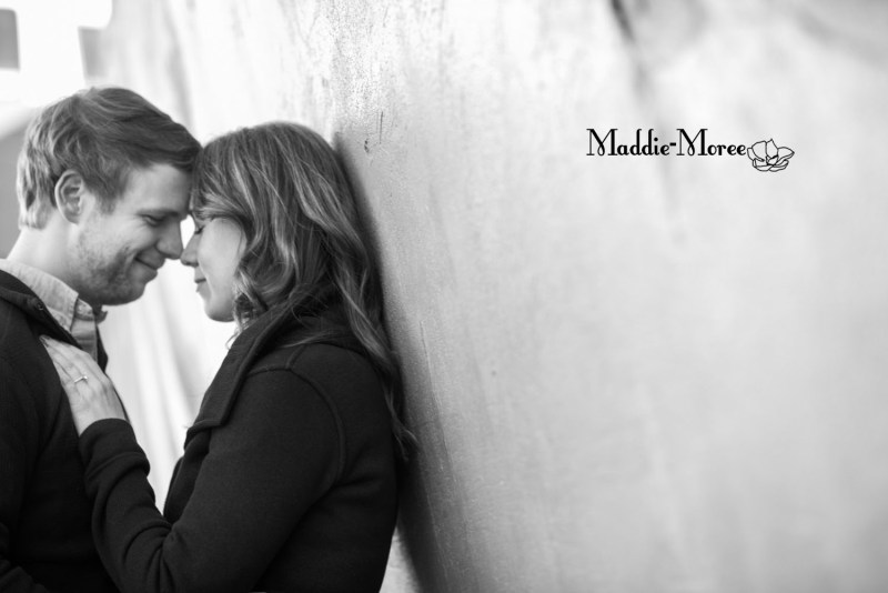 midtown engagement session-mural