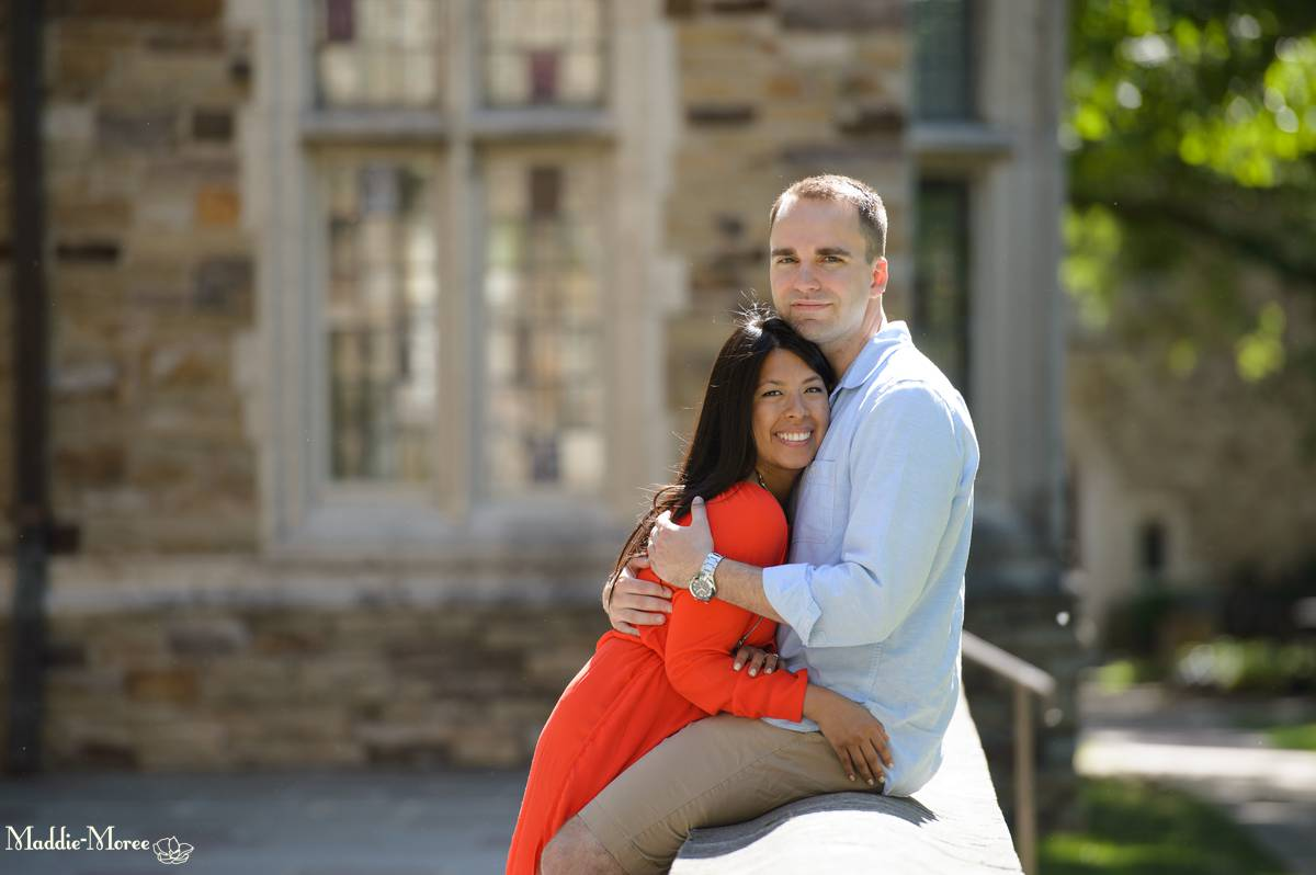 Rhodes College Engagement Session