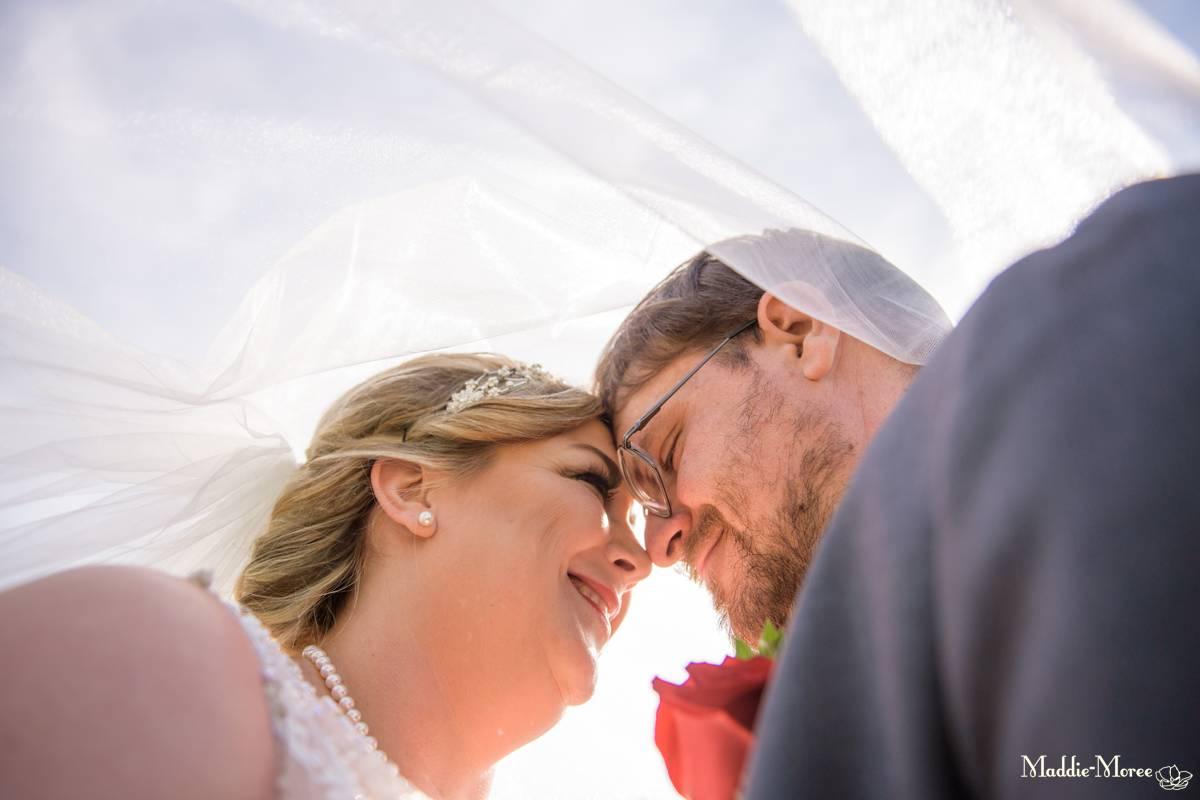 Bride groom portraits country club