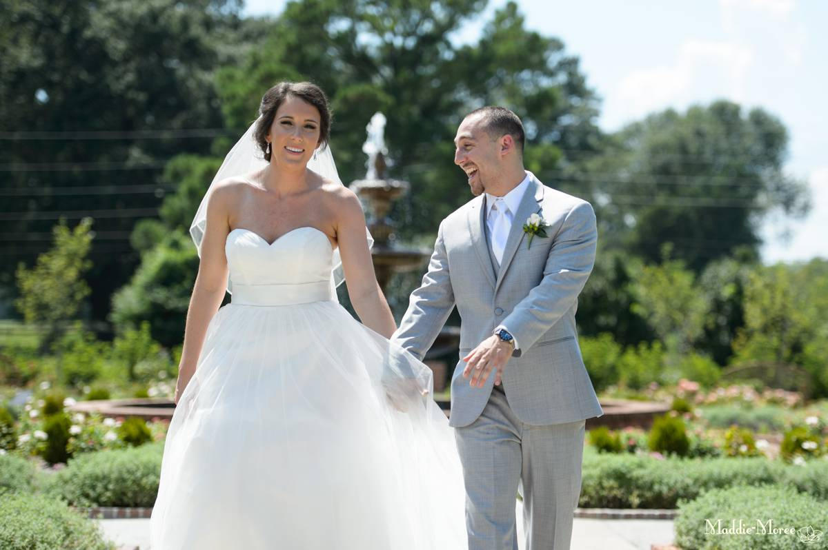 botanic bride and groom photography