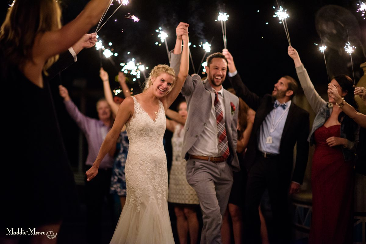 zambezi reception maddie moree sparklers