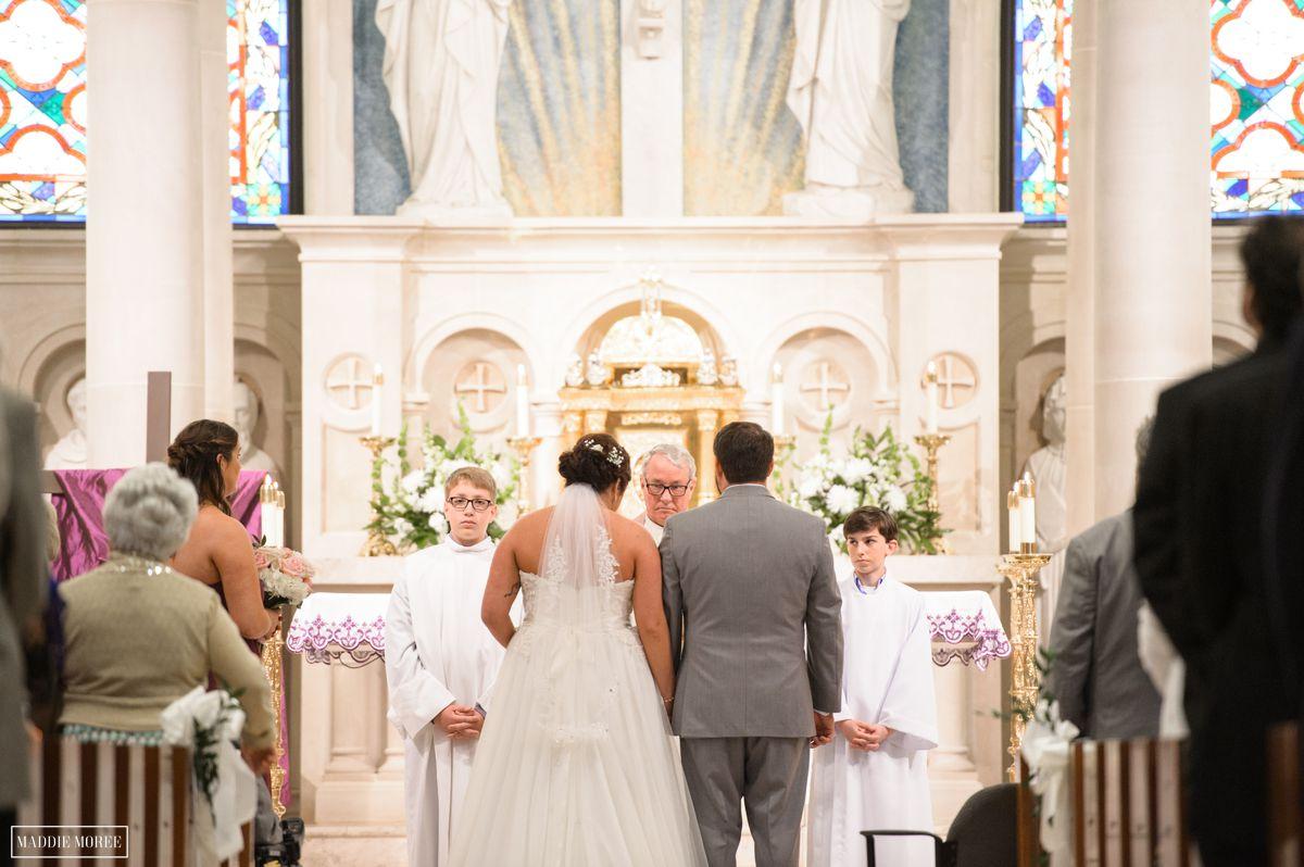 st louis catholic wedding ceremony