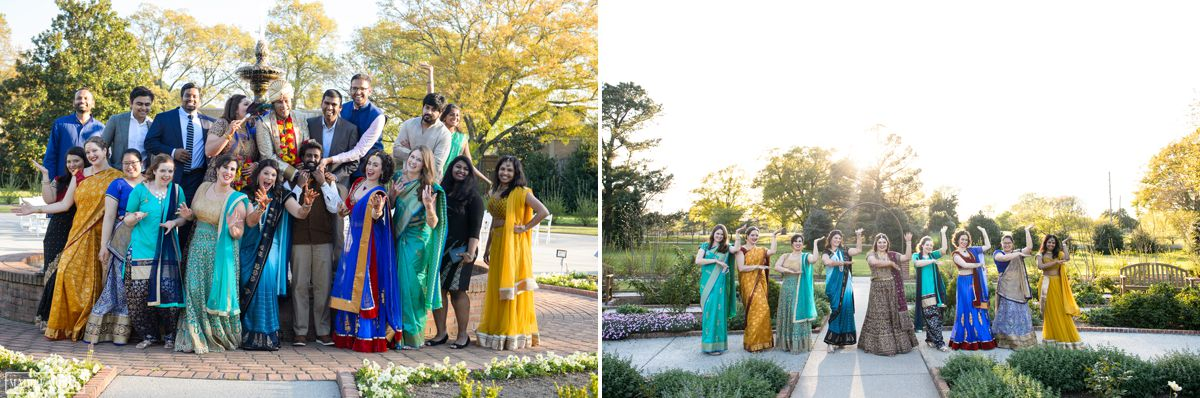 memphis botanic gardens wedding party
