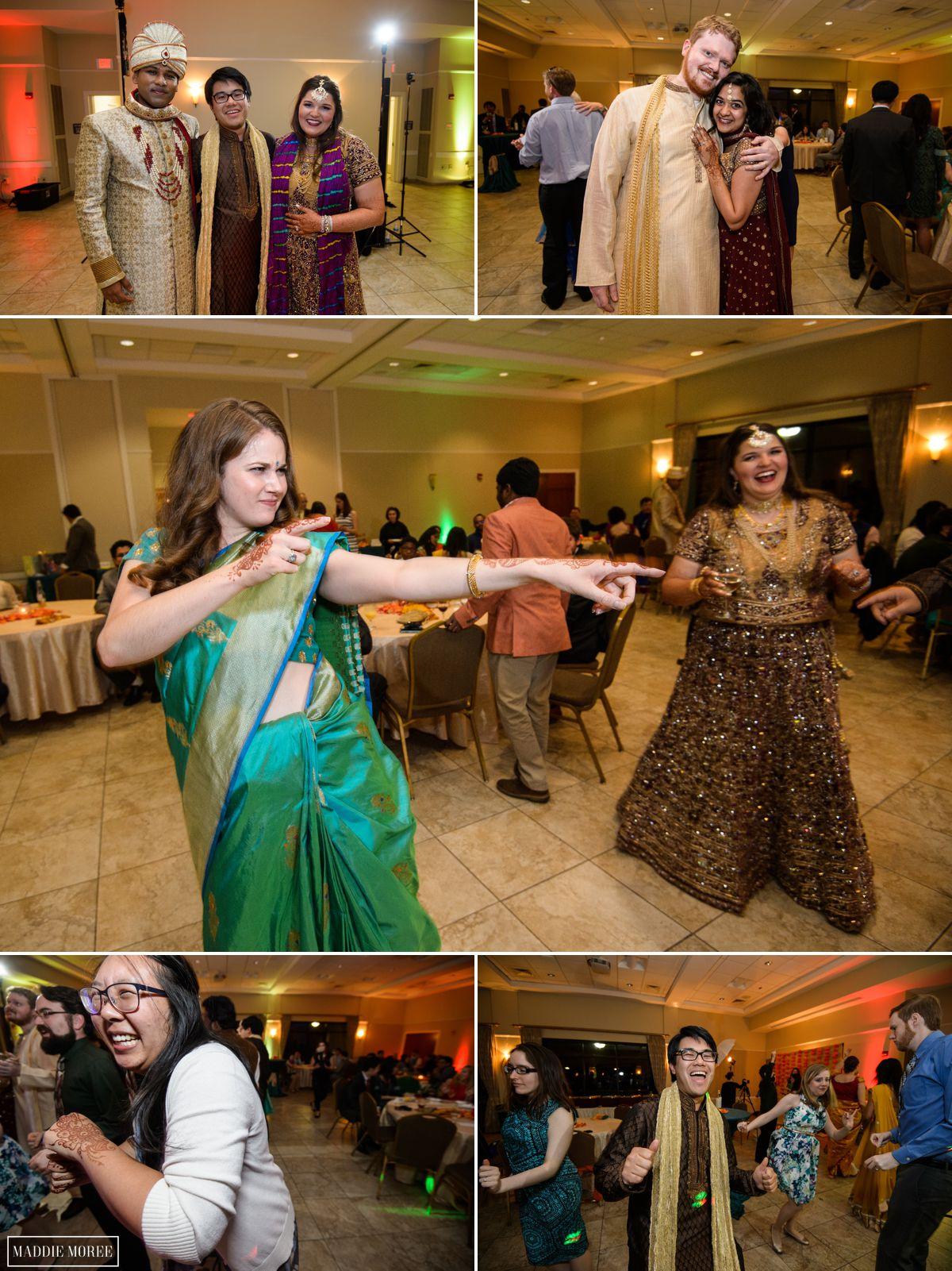memphis indian reception dancing