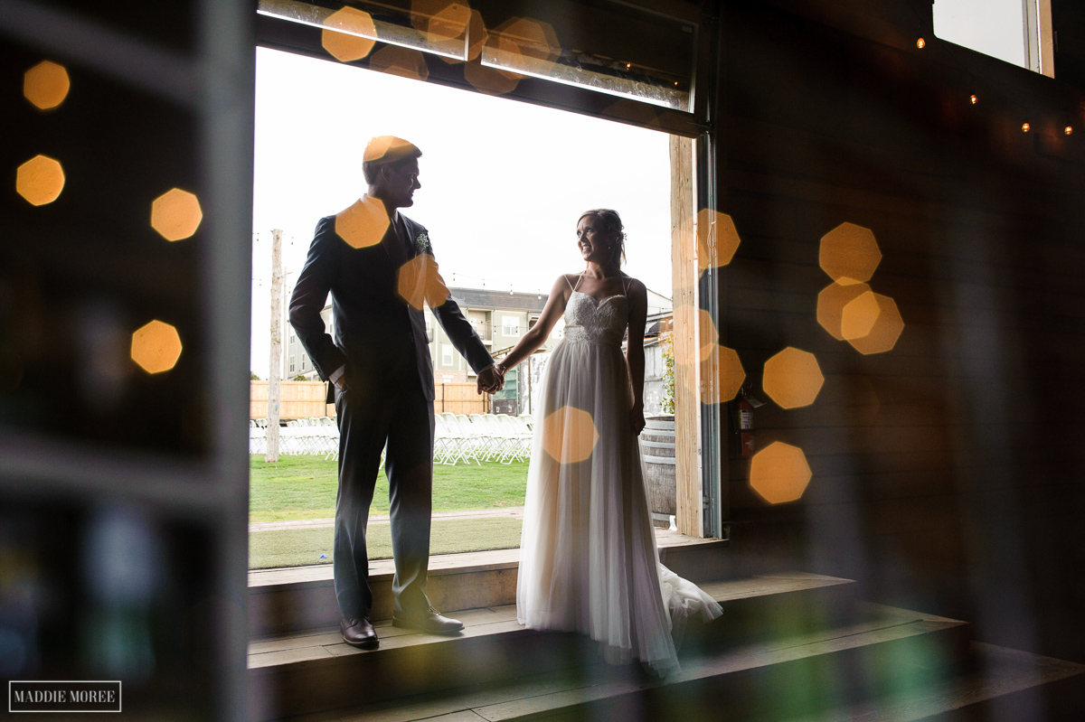 bride and groom portrait maddie moree
